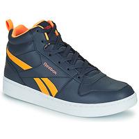 Shoes Children Hi top trainers Reebok Classic REEBOK ROYAL PRIME Marine / Orange