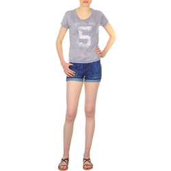 Clothing Women Shorts / Bermudas School Rag SAILOR COMFORT Blue
