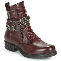 Shoes Women Mid boots Airstep / A.S.98 SAINTEC BRIDE Bordeaux