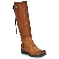 Shoes Women High boots Airstep / A.S.98 SAINTEC HIGH Camel
