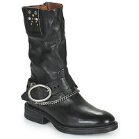 Shoes Women Mid boots Airstep / A.S.98 FLOWER BIKE Black