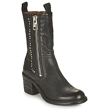 Shoes Women Ankle boots Airstep / A.S.98 JAMAL STUDS Black