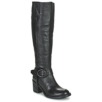 Shoes Women High boots Airstep / A.S.98 JAMAL HIGH Black