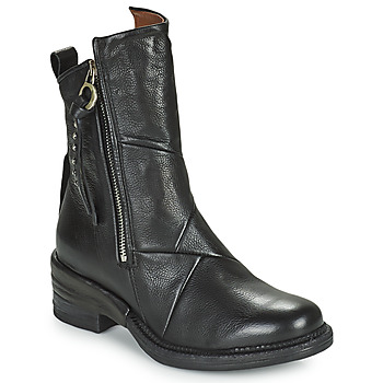 Shoes Women Mid boots Airstep / A.S.98 MIRACLE ZIP Black