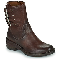 Shoes Women Mid boots Airstep / A.S.98 MIRACLE BUCKLE Bordeaux