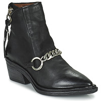 Shoes Women Mid boots Airstep / A.S.98 INSTINT Black