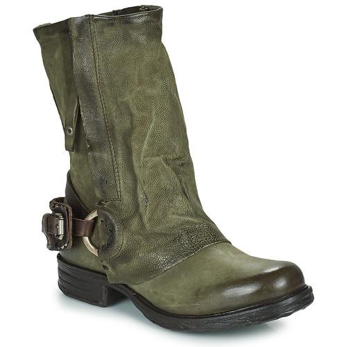 Shoes Women Mid boots Airstep / A.S.98 SAINT EC Kaki