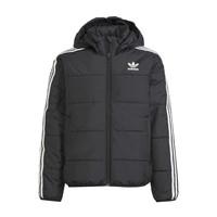 Clothing Children Duffel coats adidas Originals SOLITARE Black