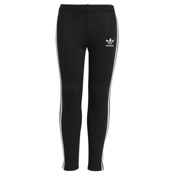 Clothing Girl Leggings adidas Originals CHALEIR Black