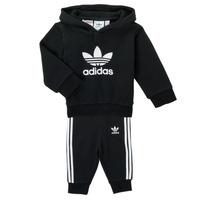 Clothing Children Sets & Outfits adidas Originals TROPLA Black