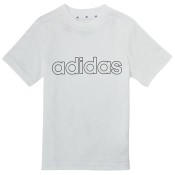 Clothing Boy Short-sleeved t-shirts adidas Performance ALBA White