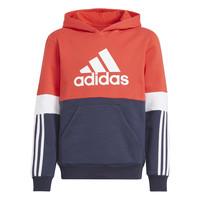 Clothing Boy Sweaters adidas Performance SOLEDAD Red / Marine