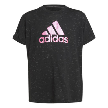Clothing Girl Short-sleeved t-shirts adidas Performance MONICA Black