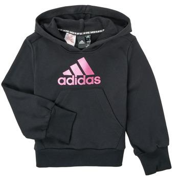 Clothing Girl Sweaters adidas Performance KINOM Black