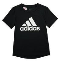 Clothing Boy Short-sleeved t-shirts adidas Performance NADGED Black
