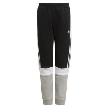 Clothing Boy Tracksuit bottoms adidas Performance KATELINA Black / Grey