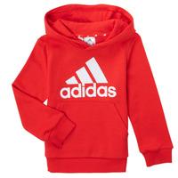 Clothing Boy Sweaters adidas Performance GENIZA Red