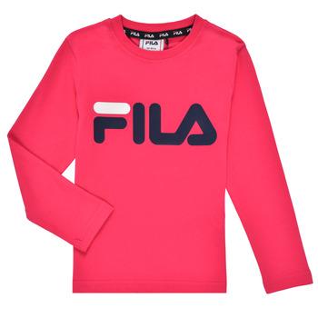 Clothing Girl Long sleeved tee-shirts Fila ESPIN Pink