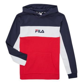 Clothing Boy Sweaters Fila CAMILLA Red / Marine