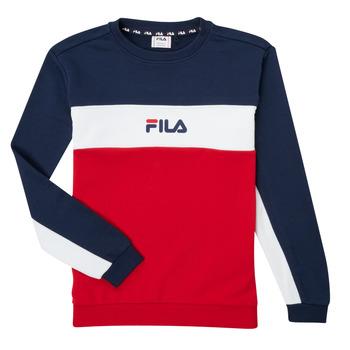 Clothing Boy Sweaters Fila KAMILA Red / Marine