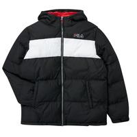 Clothing Boy Duffel coats Fila BELOMA Black