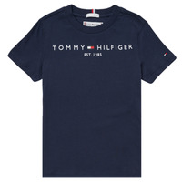 Clothing Boy Short-sleeved t-shirts Tommy Hilfiger SELINERA Marine