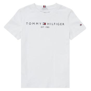 Clothing Boy Short-sleeved t-shirts Tommy Hilfiger SELINERA White