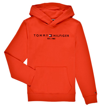Clothing Boy Sweaters Tommy Hilfiger MONICA Red