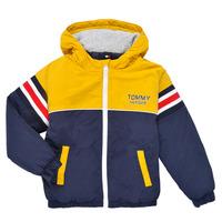 Clothing Boy Jackets Tommy Hilfiger ATHENAIS Multicolour