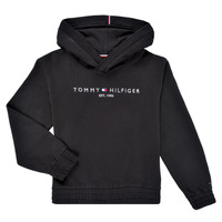 Clothing Girl Sweaters Tommy Hilfiger DEMINRA Black