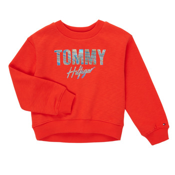 Clothing Girl Sweaters Tommy Hilfiger KOMELA Red