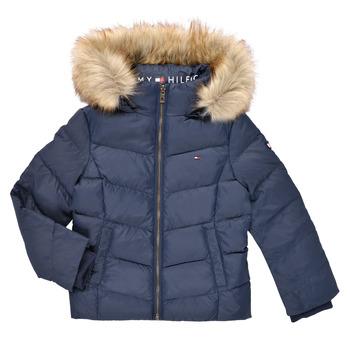 Clothing Girl Duffel coats Tommy Hilfiger RESTRI Marine