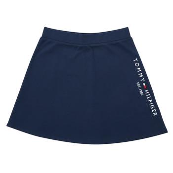 Clothing Girl Skirts Tommy Hilfiger AMELIA Marine
