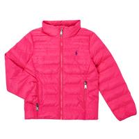 Clothing Girl Duffel coats Polo Ralph Lauren PERTUN Pink