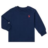 Clothing Boy Long sleeved tee-shirts Polo Ralph Lauren FADILA Marine