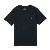 Clothing Boy Short-sleeved t-shirts Polo Ralph Lauren FANNY Black