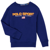 Clothing Boy Sweaters Polo Ralph Lauren SENINA Marine