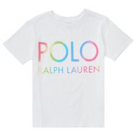 Clothing Boy Short-sleeved t-shirts Polo Ralph Lauren FERILO White