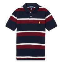 Clothing Boy Short-sleeved polo shirts Polo Ralph Lauren POLLONO Multicolour