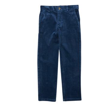Clothing Boy 5-pocket trousers Polo Ralph Lauren FRETTI Marine