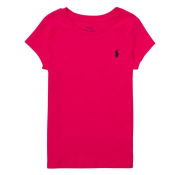 Clothing Boy Short-sleeved t-shirts Polo Ralph Lauren ASKIRA Pink