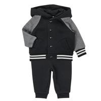 Clothing Boy Sets & Outfits Polo Ralph Lauren DENILO Black / Grey