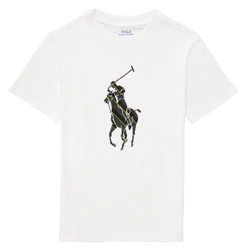 Clothing Boy Short-sleeved t-shirts Polo Ralph Lauren GUILIA White