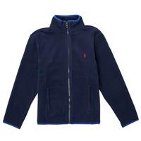 Clothing Girl Fleeces Polo Ralph Lauren TOLIPA Marine