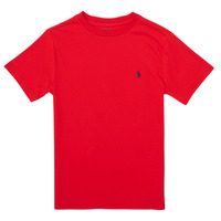 Clothing Girl Short-sleeved t-shirts Polo Ralph Lauren FOLLIA Red