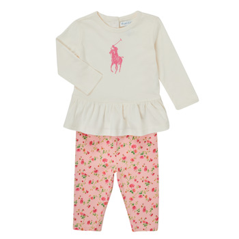 Clothing Girl Sets & Outfits Polo Ralph Lauren FRENNO Multicolour