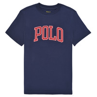 Clothing Boy Short-sleeved t-shirts Polo Ralph Lauren MALIKA Marine