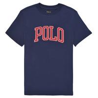 Clothing Boy Short-sleeved t-shirts Polo Ralph Lauren MELIKA Marine