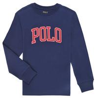Clothing Boy Long sleeved tee-shirts Polo Ralph Lauren METIKA Marine