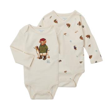 Clothing Boy Leotards Polo Ralph Lauren TAKINA Ecru